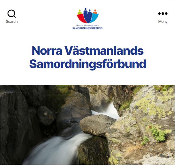 Norra Västmanlands Samordningsförbunds hemsida